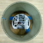 The maximum size of a robot is defined by this cylinder