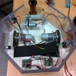 EKRS robot, disassembled