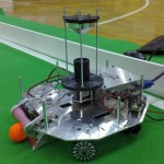 A fancy hyperbolic-mirror robot